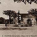 <b>place</b> de la <b>République</b> à Floirac