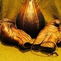 Antic boxing item : wilson sporting equipment