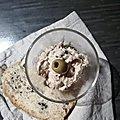 TARTINADE de Thon aux Olives
