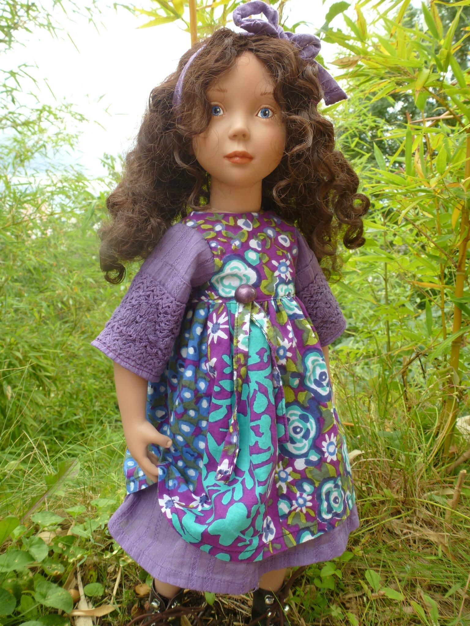 Robe pour grande Zwergnase, violette, plus disponible, 15 € et 2,40