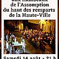 La fête de l'<b>Assomption</b>: une fête normande