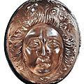 Exceptionnel <b>camée</b> à tête de Méduse. Fin de l'Époque Hellénistique, ca. IIe-Ier siècle av. J.-C