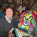 Hommage à ANNIE LECOQ notre Amie Artiste
