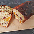Cake aux <b>Fruits</b> <b>Secs</b>