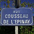 Mauléon (79), rue Cousseau de L'Epinay