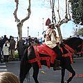 romain à cheval