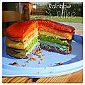 Rainbow cake #1