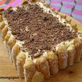 Charlotte lenôtre vanille et chocolat (charlotte cécile)