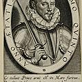 Portrait par Thomas de Leu (1589)