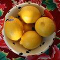 ...et des citrons !