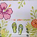 Cartes d'anniversaire diverses et variées !