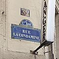 Rue La Condamine
