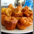 <b>CANNELÉS</b> CURRY, AIL ET PERSIL