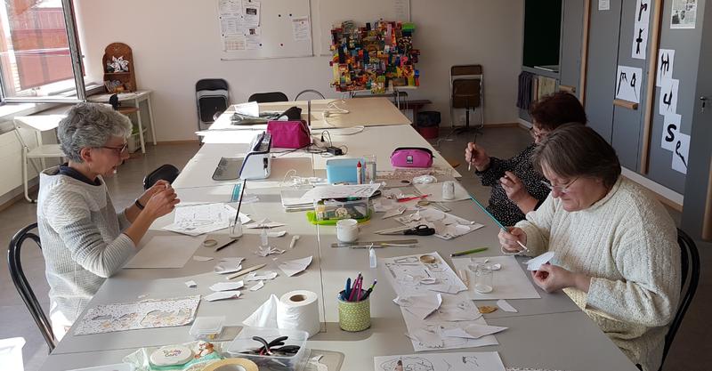 Papercraft atelier
