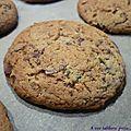 Cookies menthe chocolat
