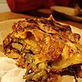 Lasagne à l'aubergine