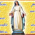 Fête de l'Immaculée Conception ( fête le 8 décembre)