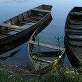 Barques - Dordogne - Juillet 2004
