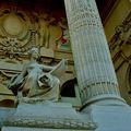 Détail de la façade du Grand Palais.