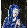Vierge en prière, <b>XVIIème</b> <b>siècle</b>