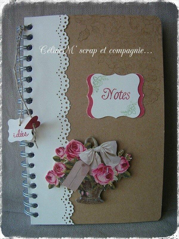 Marque-page ; carnet de notes et carte d'anniversaire !