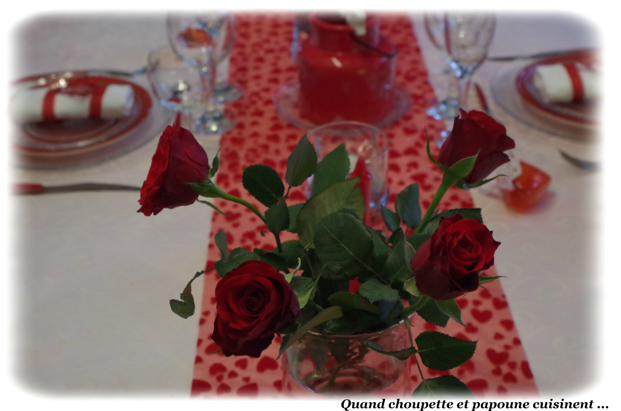 MA TABLE SAINT-VALENTIN 2018