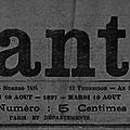 1897 - la lanterne, sur les félibres