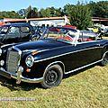 Mercedes 220 se ponton (1956-1959)(auto retro nord alsace betschdorf)