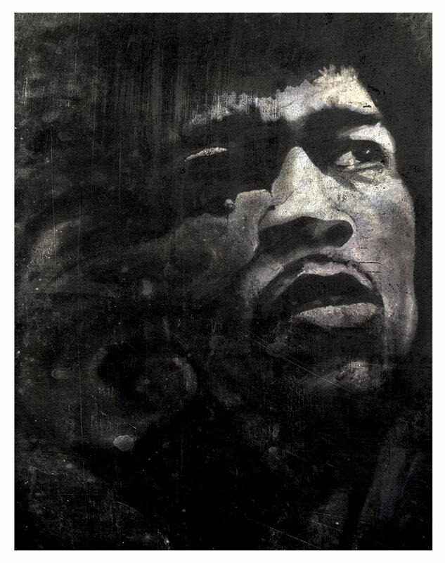 Hendrix coquille usée