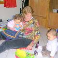 Enola,Mamie,Alicia 11 mois