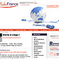 Alerte à liège ressencé par le ministère français des affaires étrangères