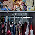 Organiser l'armoire/commode de bébé