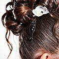 Bijou cheveux orchidée myia cascade.