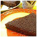 Moelleux au chocolat sans gluten et sans lait