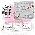 Cards, Scrap and DIY : le défi d'octobre