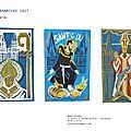 projet de la banniere St Corentin et Santig du, cathédrale de Quimper 2017