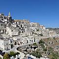 Basilicate (7/12). Misère à <b>Matera</b>.