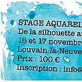 Stage / workshop - personnage : de la silhouette au portrait