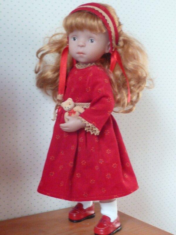 Camille en poupée russe