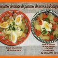 Deux variantes de salade de pommes de terre