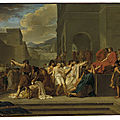 Clark Art Institute acquires Guillaume <b>Guillon</b> Lethière's masterpiece 'Brutus Condemning His Sons to Death'