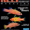 Un nouvel article dans le Reef Hobbyist <b>Magazine</b> -3e trimestre 2020