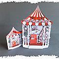 cARTe en accordéon : Le kiosque de Noël