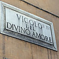 Campo Marzio - Entre Corso et Tibre (12/18). Le vicolo del divino amore.
