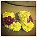 3ème paire de petits chaussons...