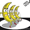 Des bananes enragées