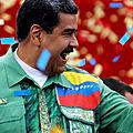 Vénézuela: Nicolas Maduro pulvérise la guerre <b>économique</b> et multiplie par 34 le salaire minimum