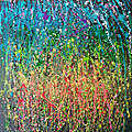 <b>Abstract</b> expressionisme action painting salamone