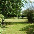 Surgères, le jardin du gite rural
