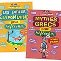 Les <b>fables</b> de La Fontaine / Mythes grecs pour réfléchir